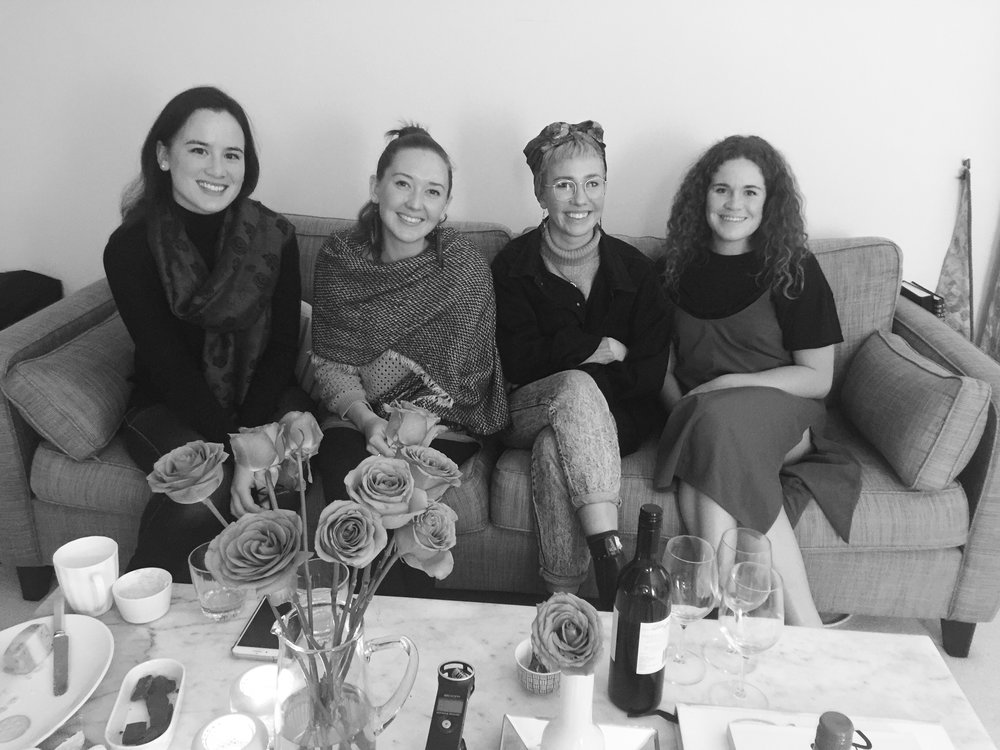 Frances Madden, Ella Macens, Hannah Robinson and Ruby May
