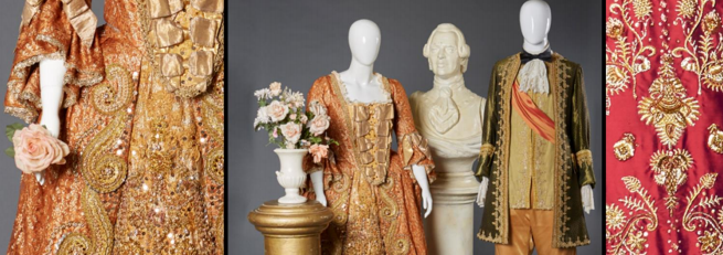 Some of the opera costumes available for auction