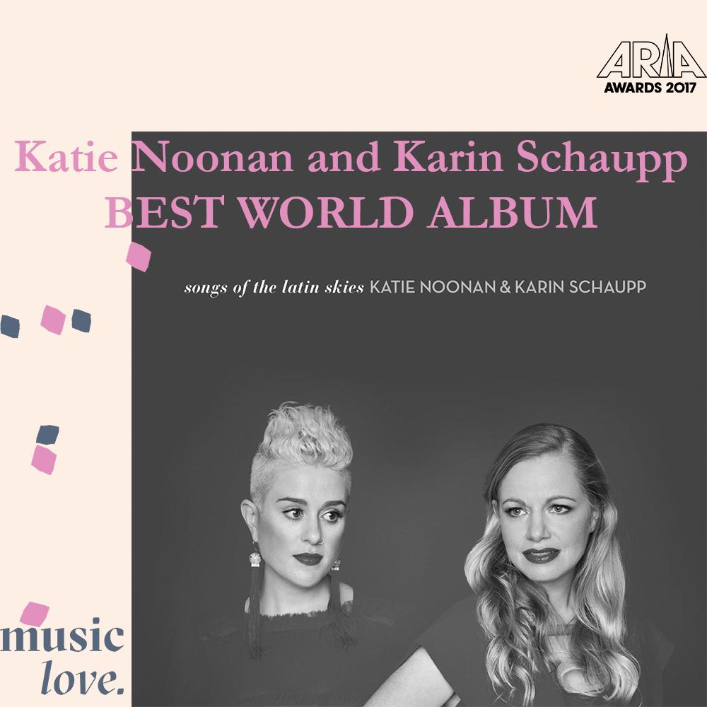Katie Noonan Karin Schaupp Best world album.jpg