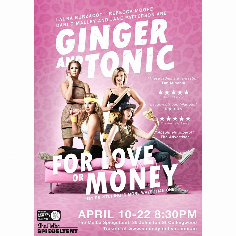 Ginger and Tonic For Love or Money.jpg