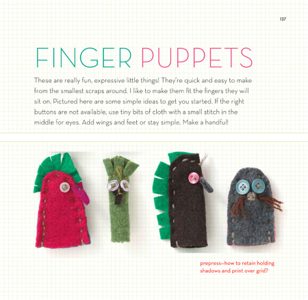 33 Set of 4 finger puppets-137