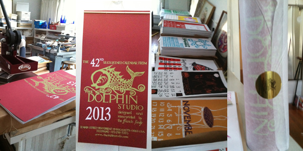The Dolphin Studio Calendar in Images