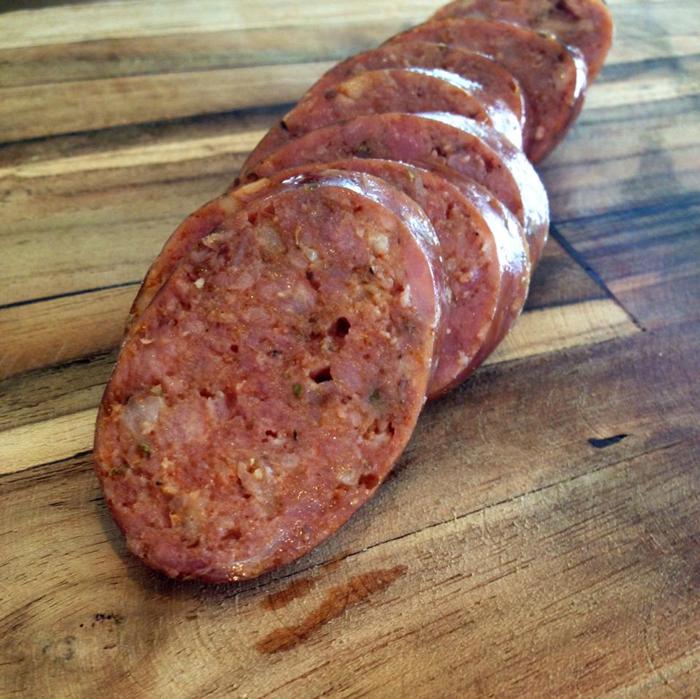07.17.14 JSliced Sausage