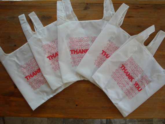 5-pack of The Thank You Bag by Jelledge on Etsy