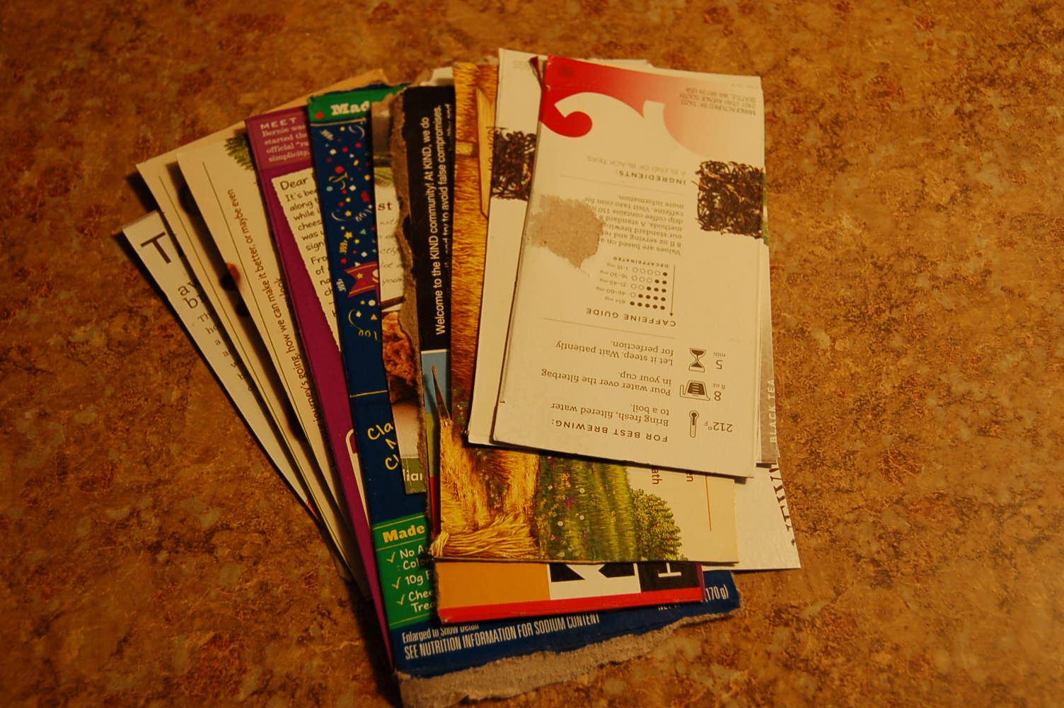 cardboard listmakers