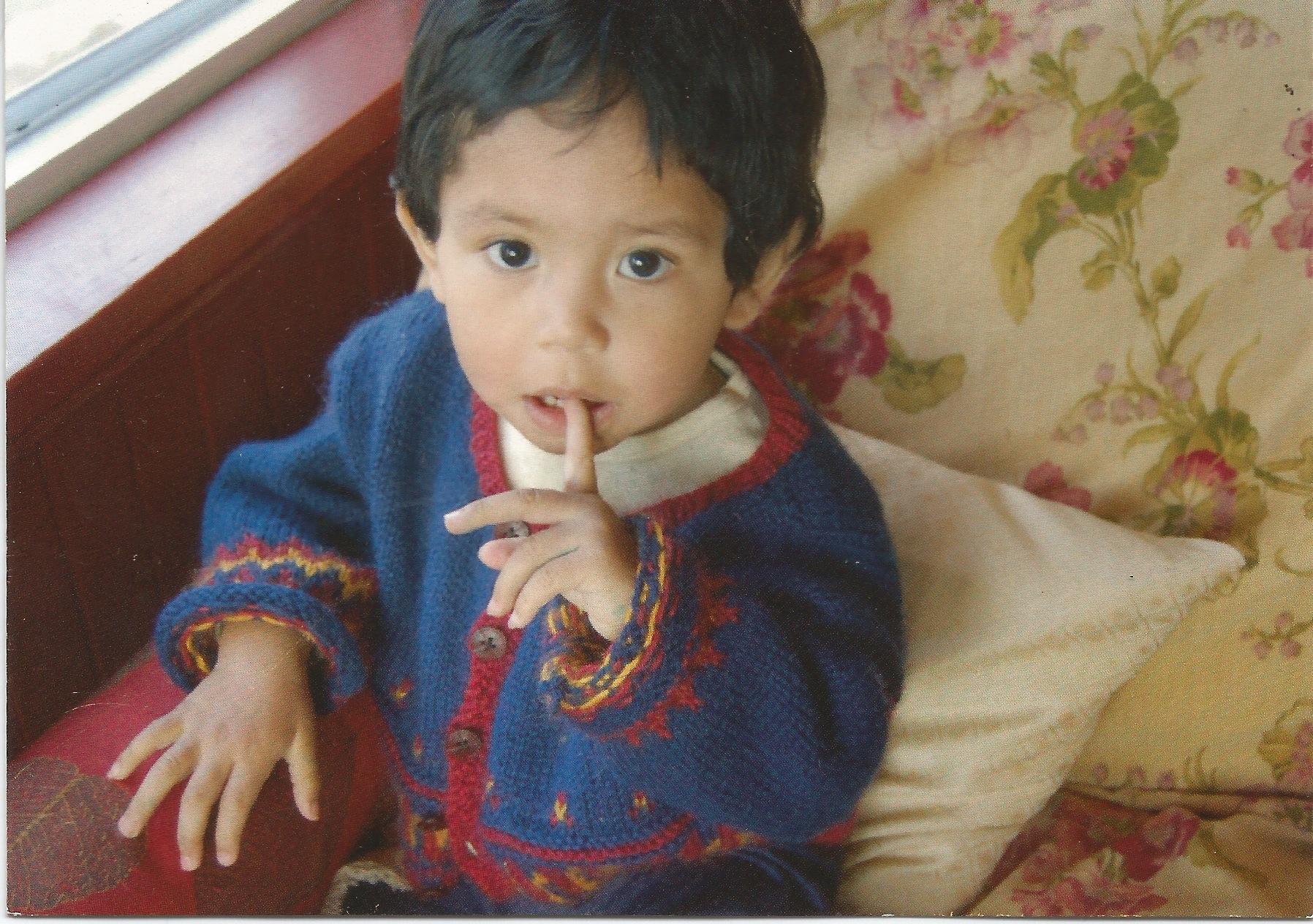 Baby Javi Sweater