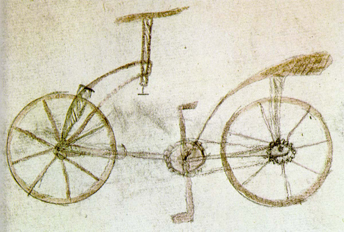 Leonardo_Folio_133v_Bicycle
