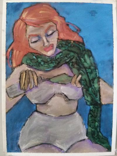 10.22.15 snake lady
