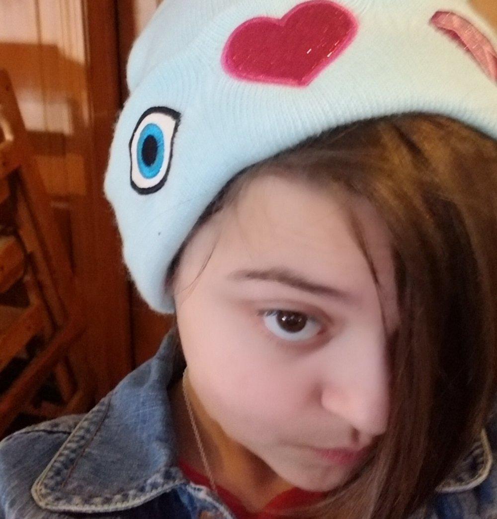 Photo Credit: Hope's Selfie... Hope is one great big emoji!