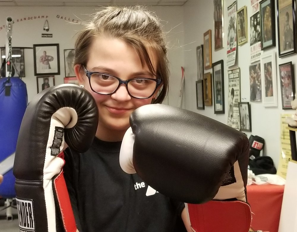 "Photo Credit: Donna Motta. ""Hope, the Futuristic Female Warrior!"""