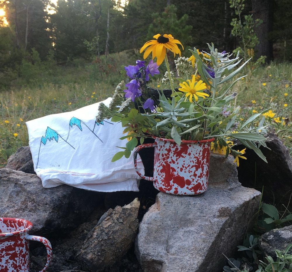 #campingwithteatowels 😉 -