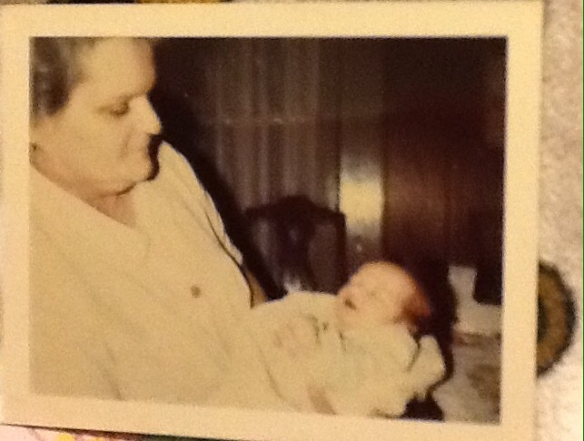 Maternal Grand, and me!