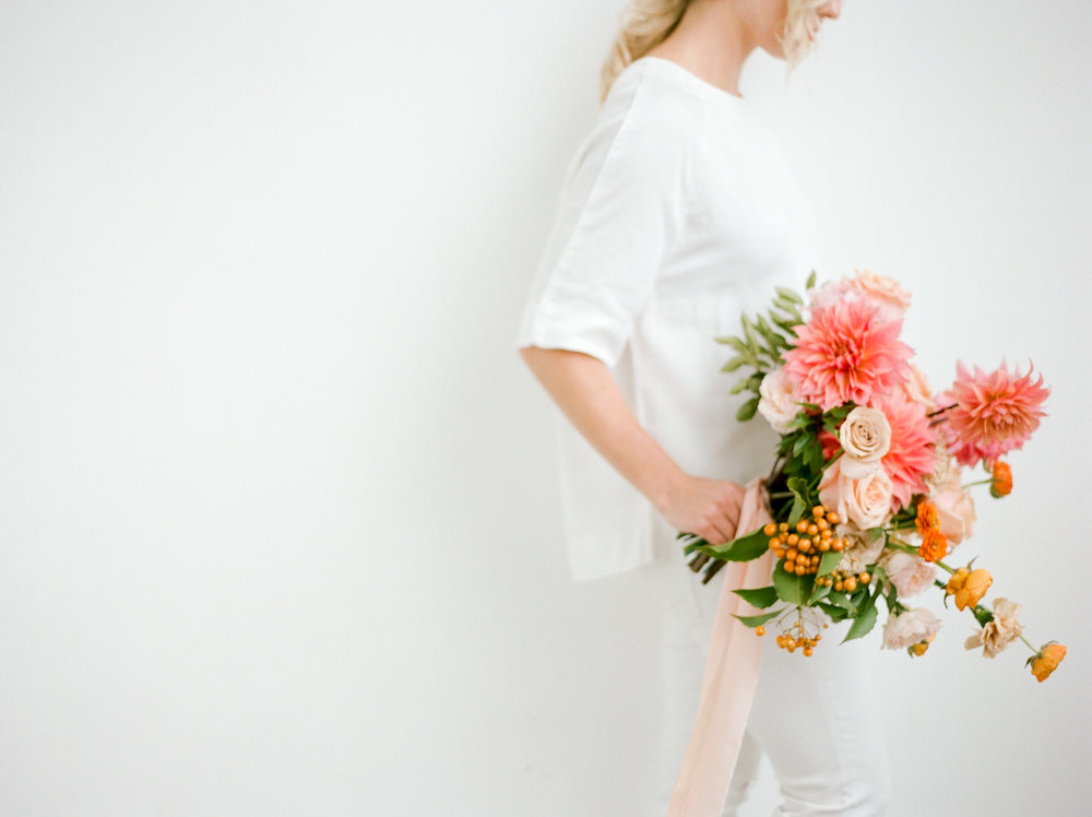 PHOTOGRAPHY:  WE ARE ORIGAMI  STYLING:  SANDRA CHAU  FLORALS & CONCEPT:  TRILLE FLORAL  RIBBONS:  FROU FROU CHIC