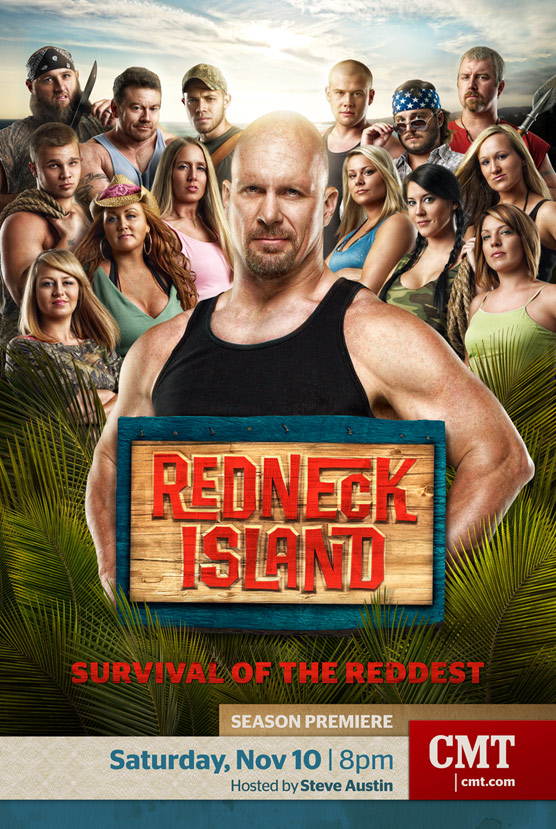Mark DeLong - Commercial Photography - Large group photo on redneck island.