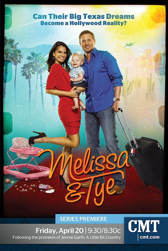 Mark DeLong - Commercial Photography - Front cover of melissa and TY holding their baby.