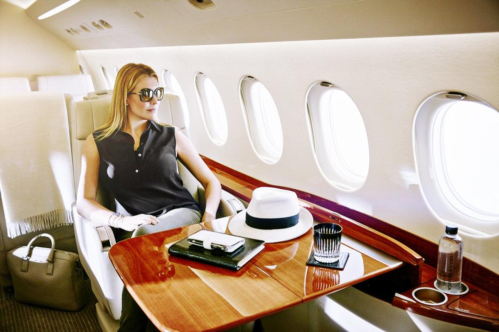 Lifestyle Campaign for Dassault Falcon