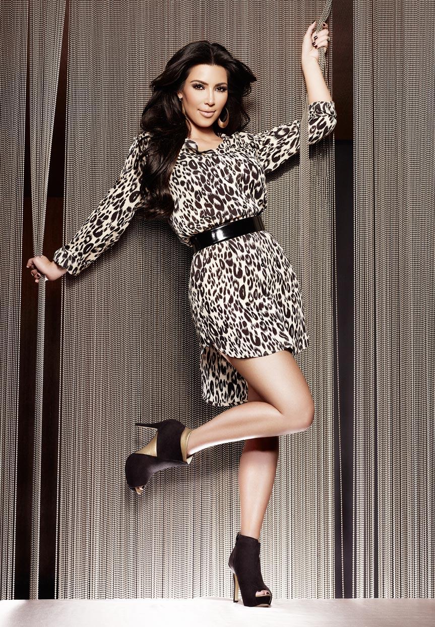 Mark DeLong - Celebrity Photographer - Kim Kardashian posing for a photo.
