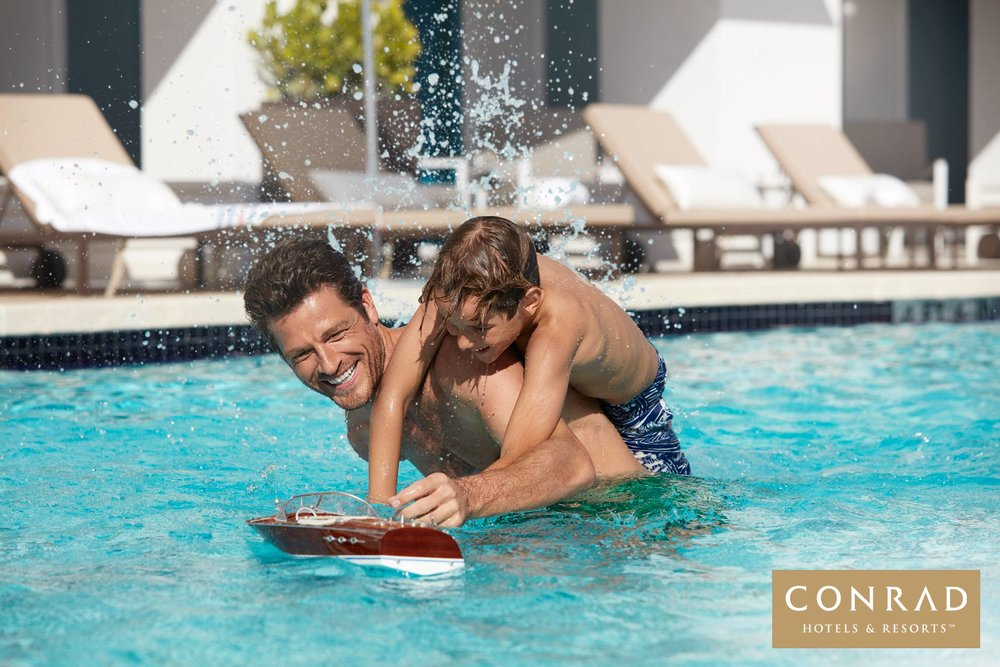 Advertising Campaign for Conrad Hotels
