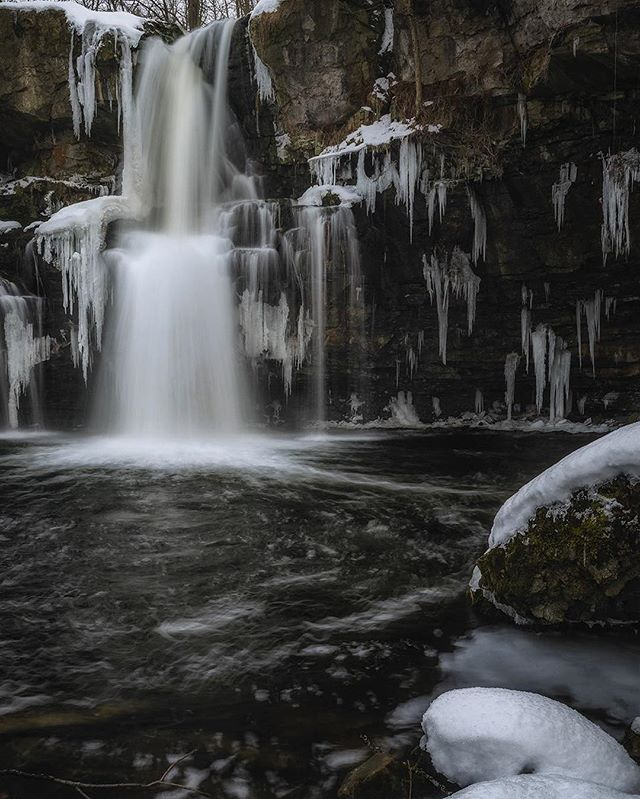 Another shot from Akron Falls (I do love this place). This was taken on black Friday on one of our few, actual winter days. Now it's March so let's bring on the greenery so I can get back out to capture something new!  For more check out my site! www.csnyderphoto.com  #all_shots #art #beautiful #capture #color #composition #exposure #focus #GetInstaLike #instagood #moment #photo #photography #photooftheday #photos #pic #picoftheday #pics #picture #pictures #snapshot #nikon #nikond7000 #landscapephotography #landscapephotos #winterscape #waterfalls #longexposurephotography #longexposure #amazinglongexpo