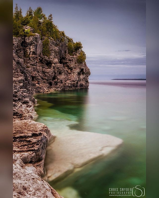 This shot goes back a few years to my last trip to Tobermory in Ontario. This is at Indian Head Cove overlooking the Georgian Bay _____________________ For more check out my site! www.csnyderphoto.com _____________________  #all_shots #art #beautiful #capture #color #composition #exposure #amazinglongexpo #GetInstaLike #instagood #moment #photo #photography #photooftheday #photos #pic #picoftheday #pics #picture #pictures #snapshot #nikon #nikond7000 #tobermoryontario #landscapephotos #indianheadcove #georgianbay #longexposurephotography