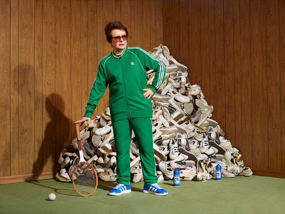 ADIDAS X BILLIE JEAN KING MOTION CAMPAIGN