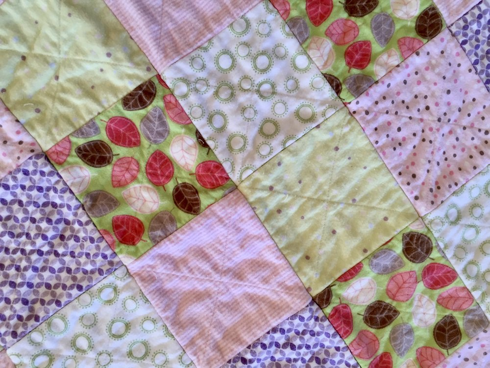 Back of quilt..