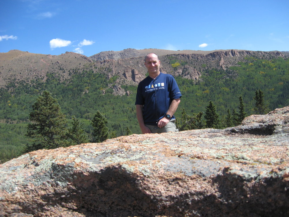 CEO at one of his favorite places in Colorado