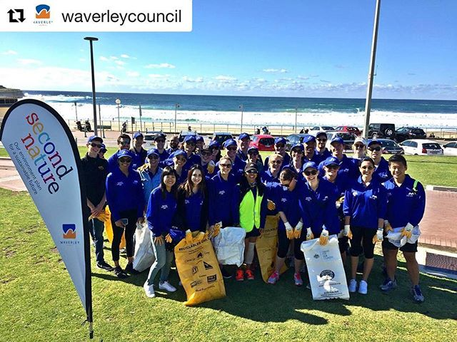 Mirvac's National Community Day gives back to the communities in which they operate. We are pleased a team from their head office teamed up with us and @waverleycouncil to help clean up Bondi Beach. Fantastic job team! Thank you @mirvacnsw!  #Repost @waverleycouncil with @repostapp ・・・ Bondi Beach and surrounds are so much cleaner today, thanks to 40 awesome Mirvac staff and Responsible Runners as a part of National Community Day, the Sydney office group chose to clean-up our 'hood. This goes to show every bit counts! Supported by Second Nature. #responsible #runners #secondnatureimin #clean #beaches #Bondi #responsiblerunners #mirvac #mirvacnsw #cleanthebeach #take3 #communityday