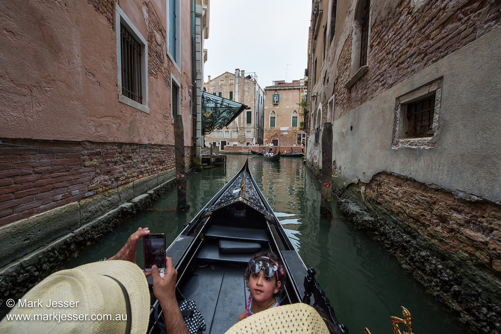 (Photo Mark Jesser) Venice, Italy. - Gondola rides.