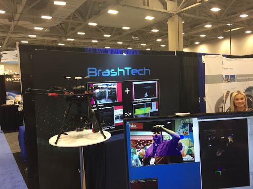 BrashTech Booth in Xponential 2017
