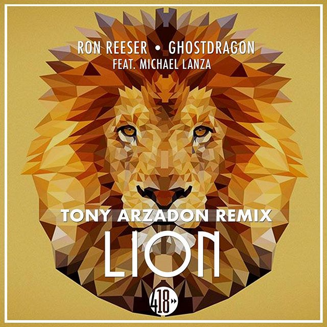 """Flipped the new @ronreeser single """" Lion 🦁 """" its roaring loud right now on @418music_official. Now streaming on @spotify. Grab the link in my bio"""