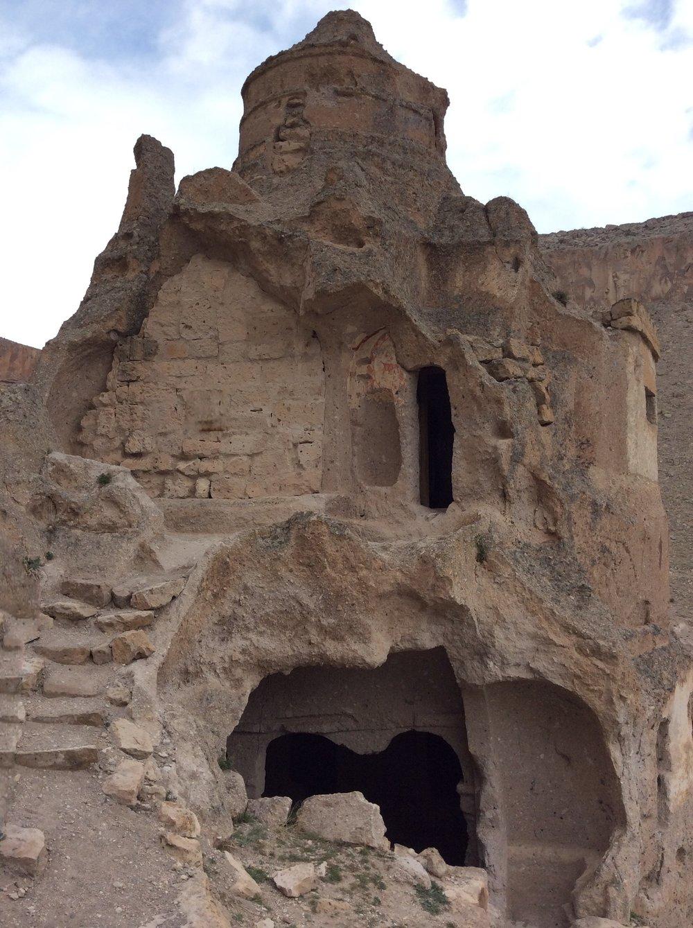 rock cut church, Cappadoca