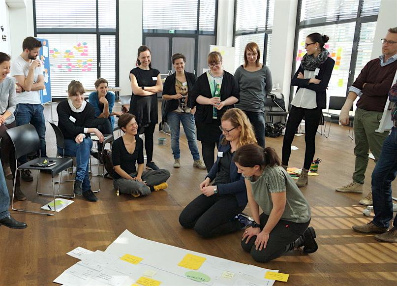 Ideenentwicklung für die INATURA Dornbirn im Rahmen eines Service Design Workshops im designforum Vorarlberg.