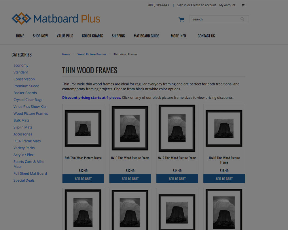 Matboard Plus -