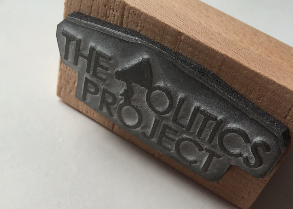 The Politics Project stamp