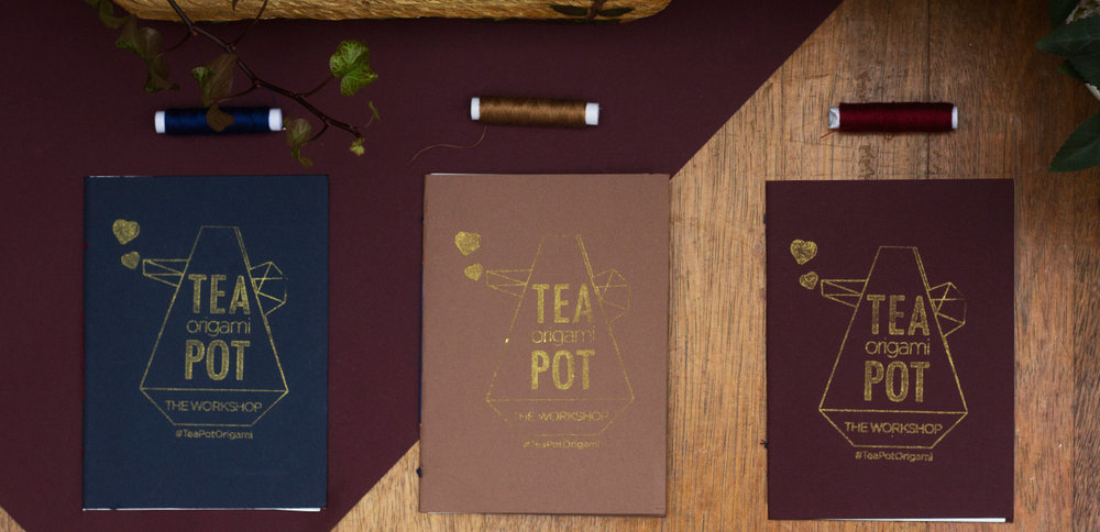 Tea Pot Origami Booklet