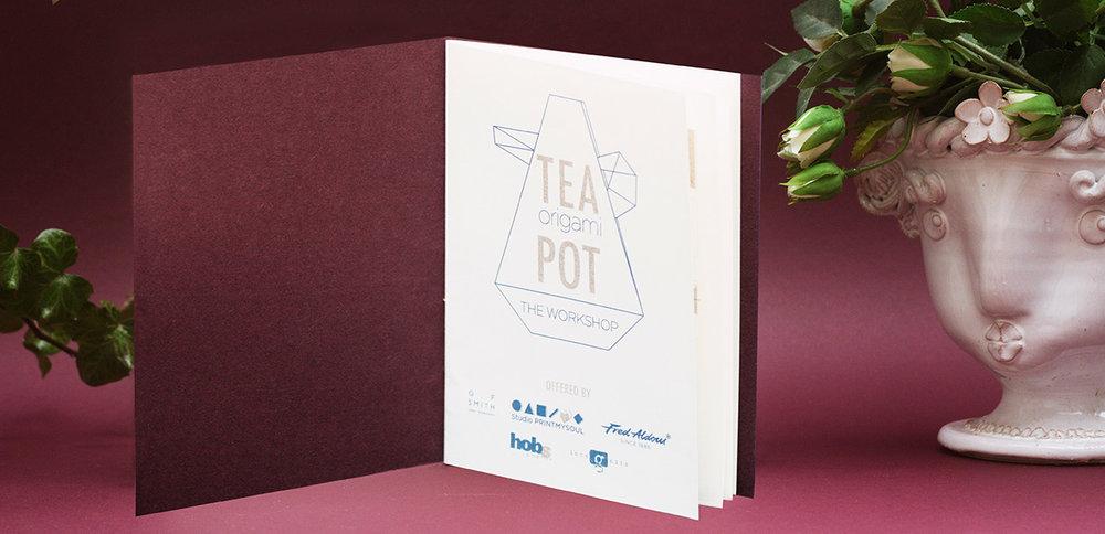 Tea Pot Origami