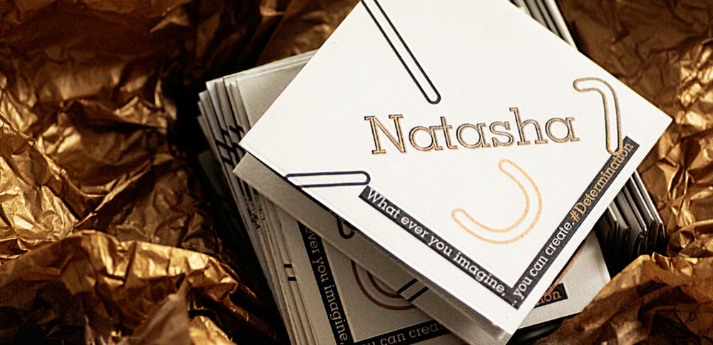NATASHA GOODEN Photoshooting Direction, Promotional Concertina Fold, Business Cards, Riso Print