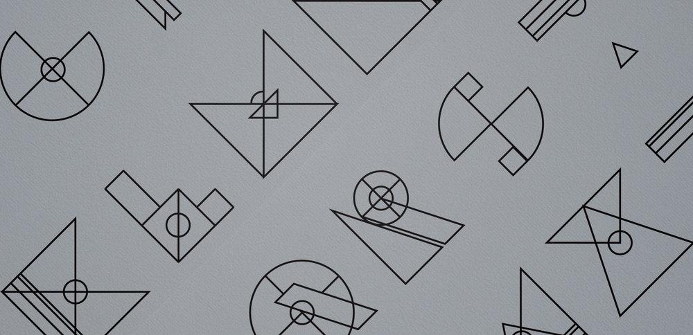 GESTALT K Display Typeface Design, Poster Design, Postcard Design, Installation