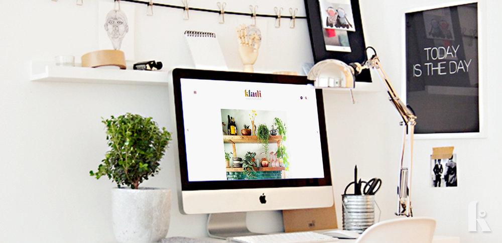 Kladi.uk - Art Directon, Logo Design, Blog Design