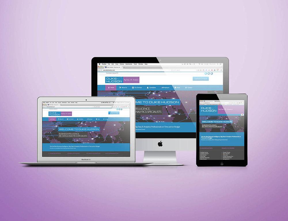 Duke Hudson - Branding, Art Direction & Website Design
