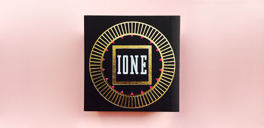 IONE - Branding, Bespoke Stationery, Website & Photo Shooting Direction