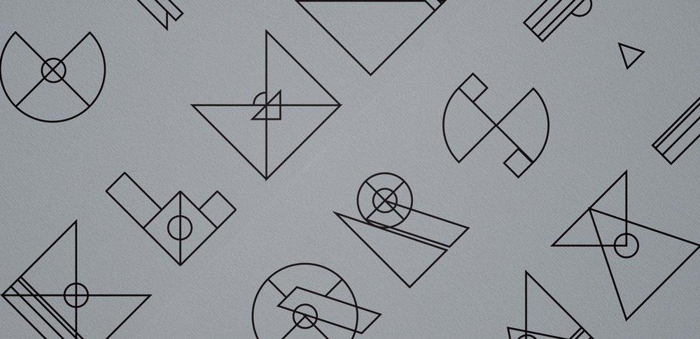 Gestalt K   -  Typeface Design, Laser Cut & Suspended Installation