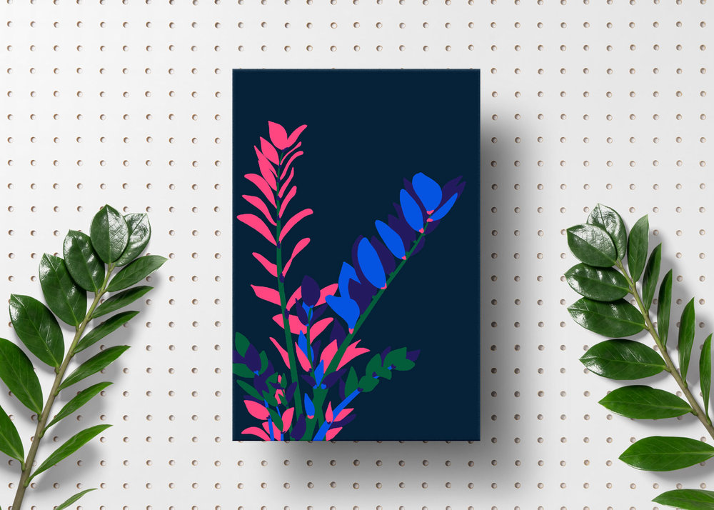 Zamioculcas Zamifolia— Studio Printmysoul I Manchester based Design ...