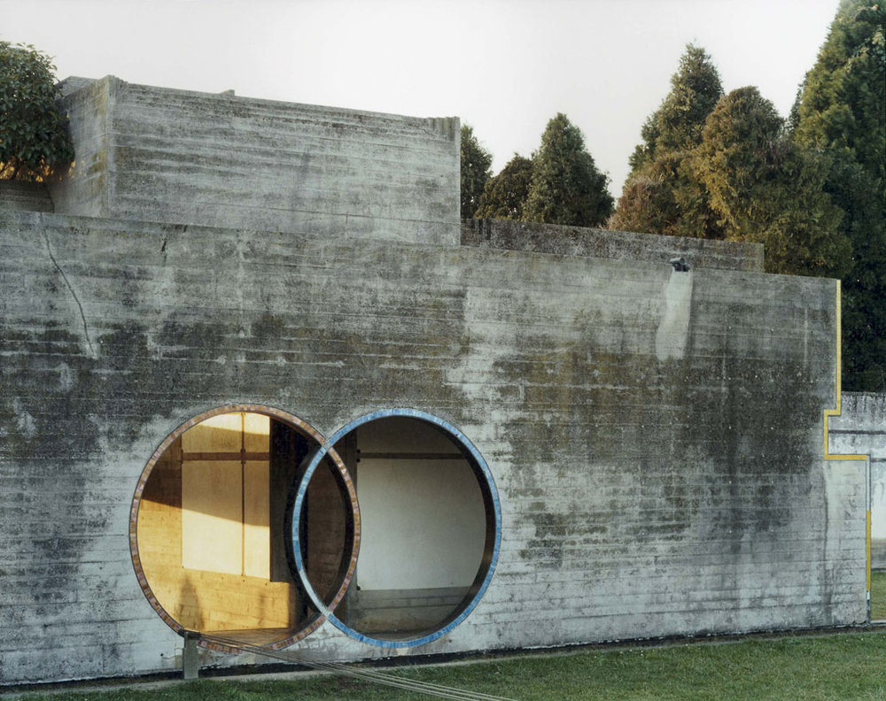The Brion tomb by Carlo Scarpa