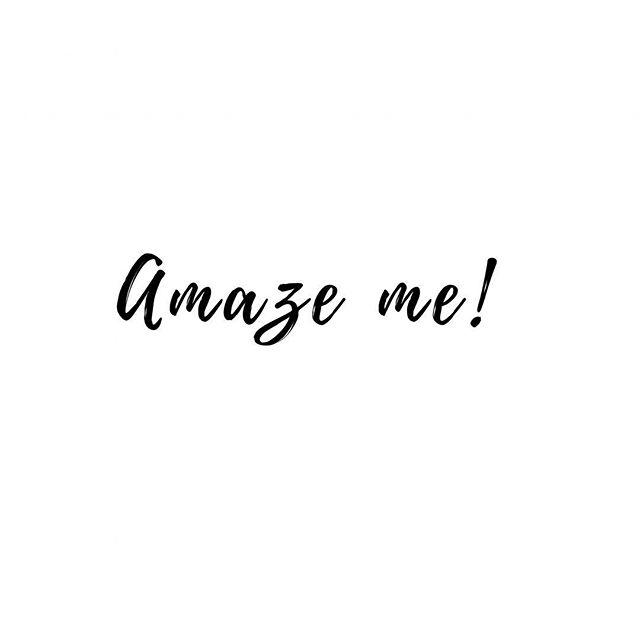 I'm listening...😉