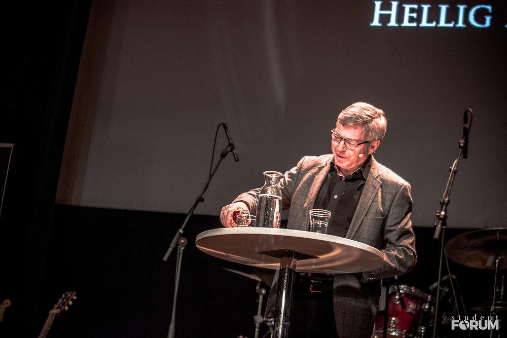 Kjell Magne Bondevik inspirerte tilhørerne i fjor.