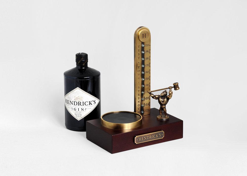 Hendrick's Strongman Bottle Glorifier