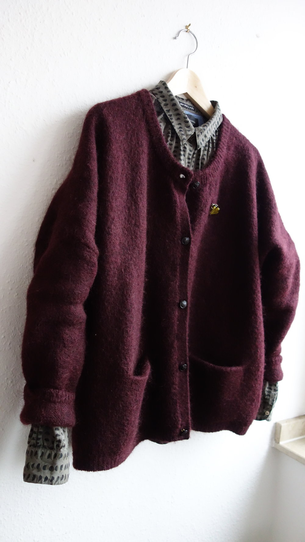 This oversized mohair cardigan by Scotch and Soda is super cosy