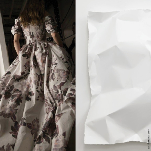 Paper Taffeta |Images:  Brock  Collection Fall 2017 |  Michel François